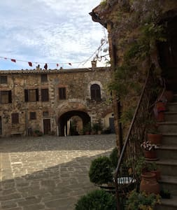 A gate into the middle age - Montemerano - Leilighet