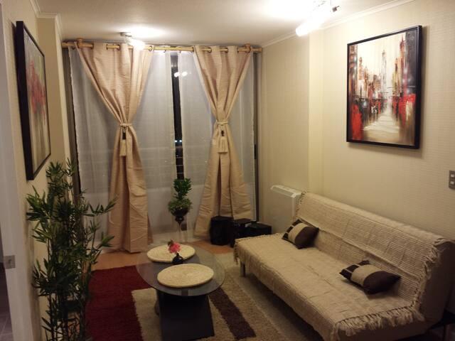 Bonito y muy cómodo departamento - Talca - Byt