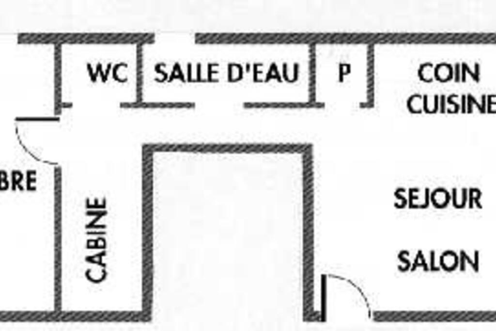 Plan du gîte Les Bruyeres