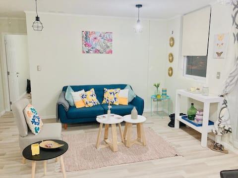 Comodo y lindo departamento nuevo en Angol