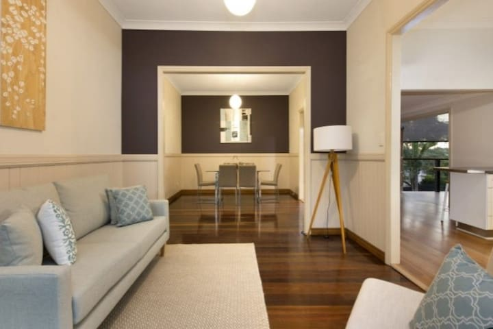 Privation in Southside Queenslander - Carina