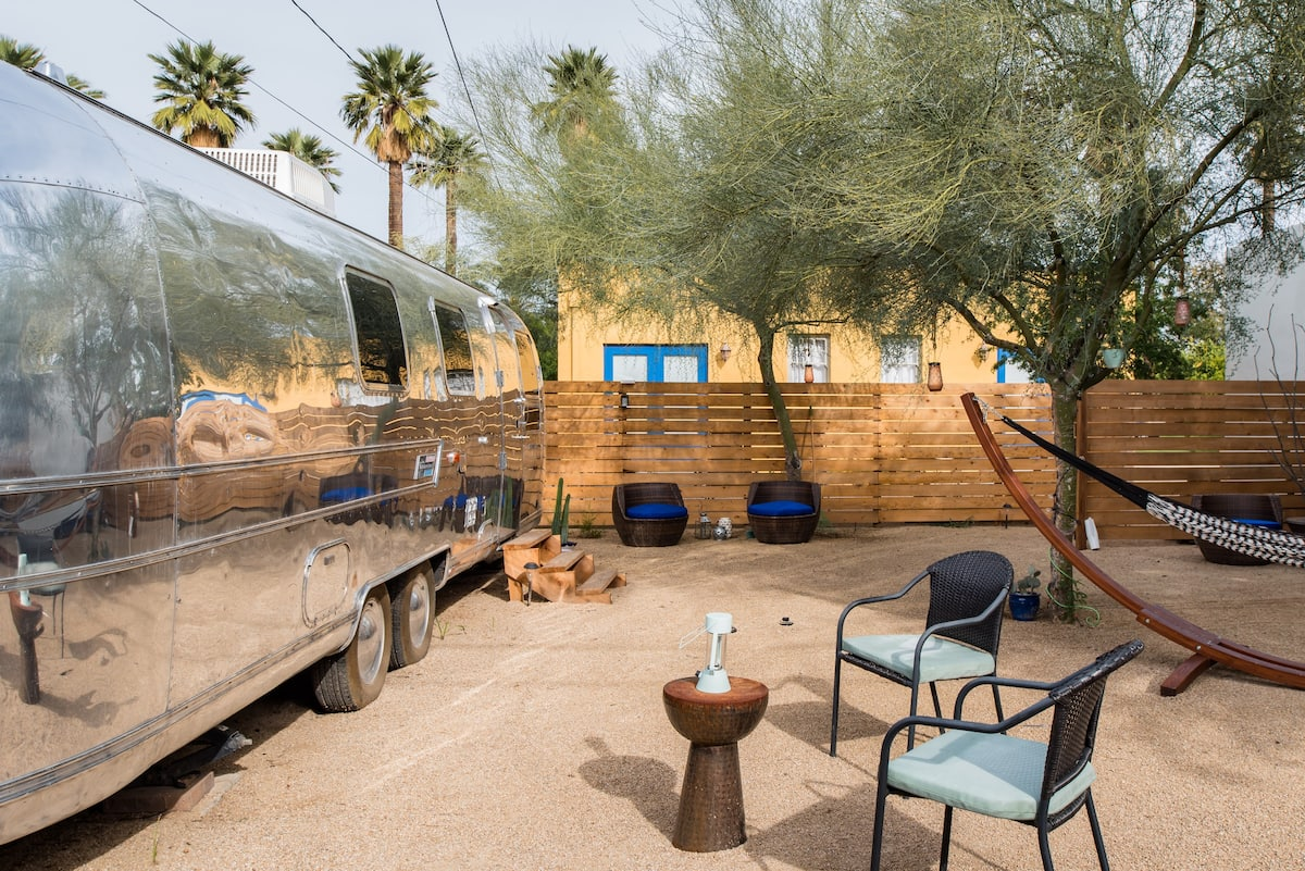 Unique Remodeled Airstream in Downtown Phoenix