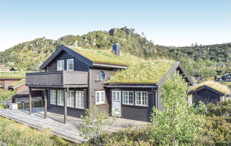 Holiday cottage with 5 bedrooms on 145m² in Åseral