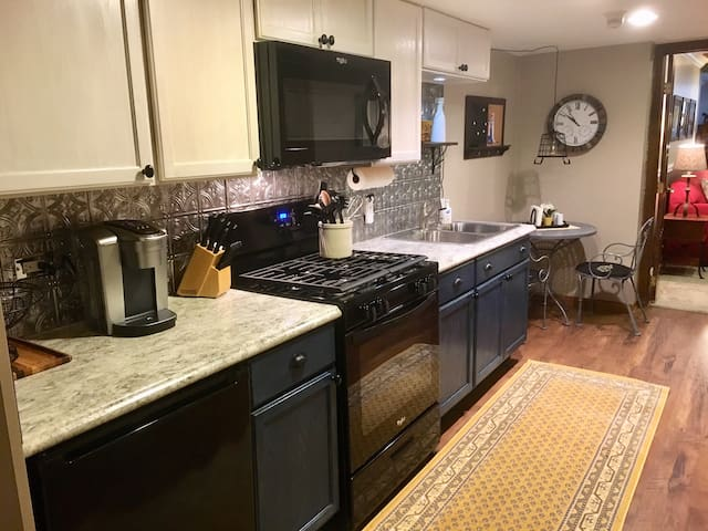 Kitchen with Bistro Table for Two