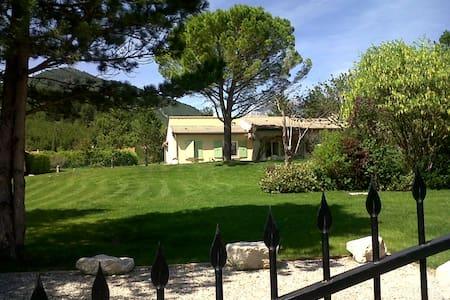 Grande villa entre Vercors et Drôme provencale - Die - Villa