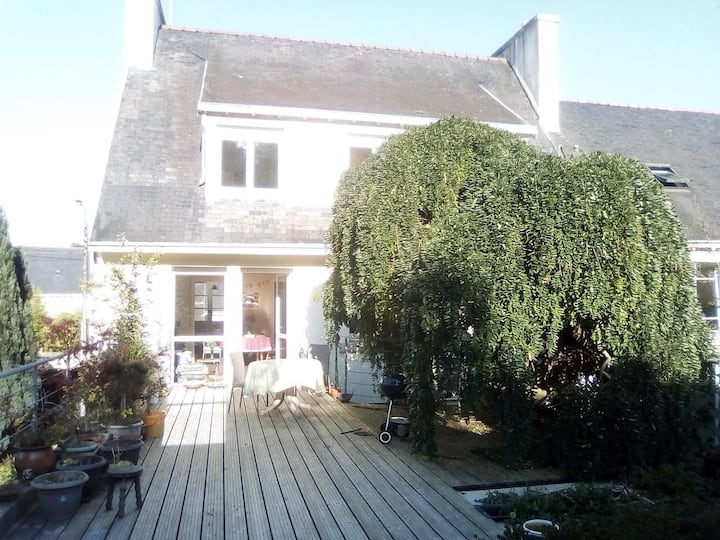 Chambre Vue Jardin, SDB Privative - Quimper