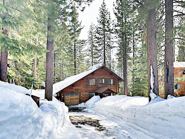Your Tahoe Donner getaway includes access to downhill and cross-country ski areas.