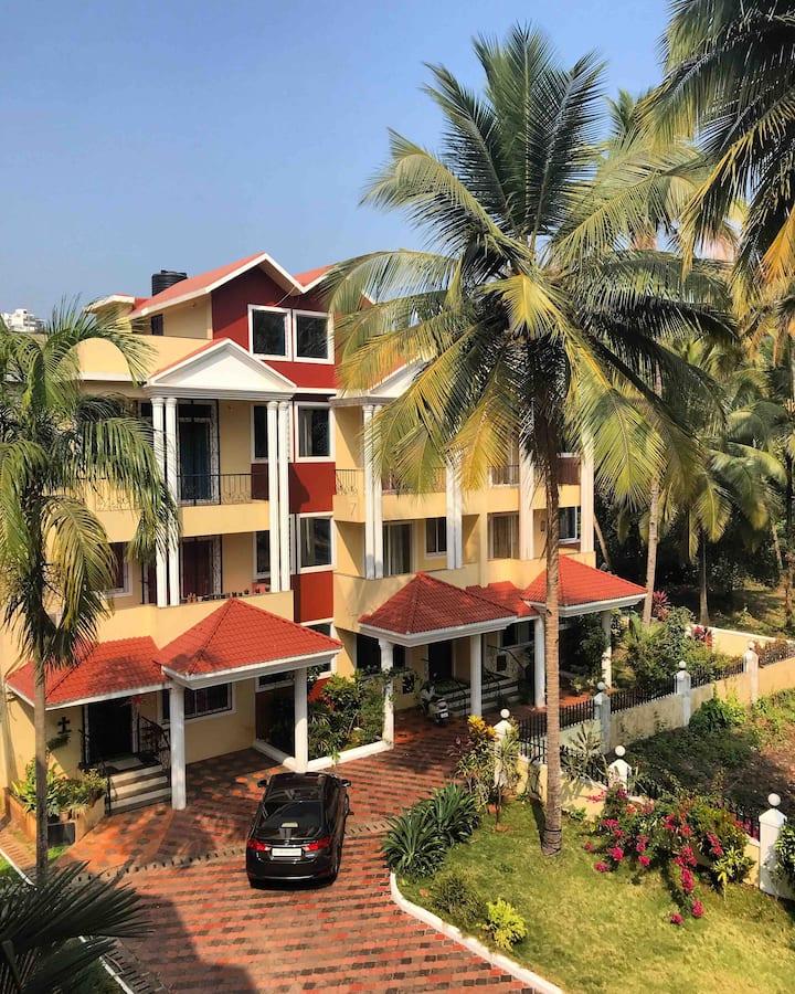 Sun-Kissed Holidays, Dabolim, Goa- Aquarius 🧜🏽♀️