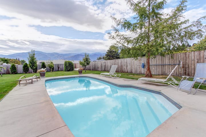 Laid-back, dog-friendly home w/private pool & spacious yard!