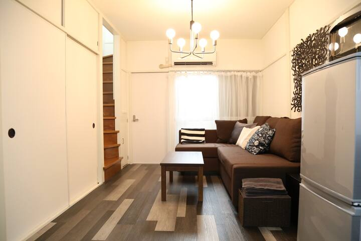 ROPPONGI walk12mins Hiroo2mins/detached HOUSE/WIFI