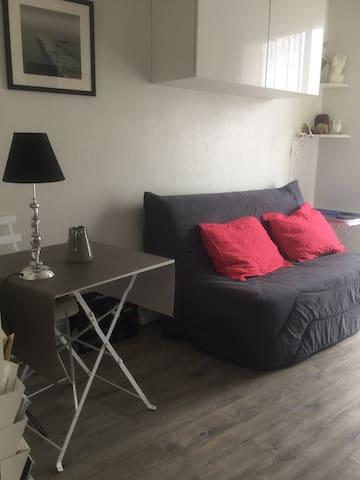 Studio, résidence calme, parking - Maisons-Laffitte - Appartement en résidence
