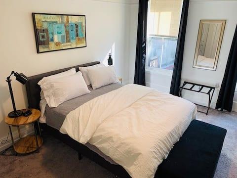 Charmantes Schlafzimmer im Herzen von Hoboken