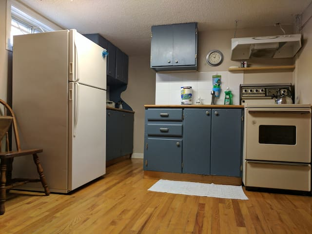 Small Inner City Basement Suite Great for Kids