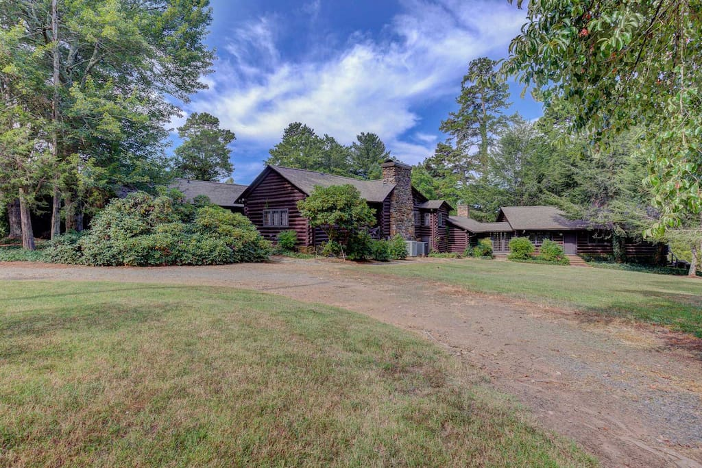 Main log cabin