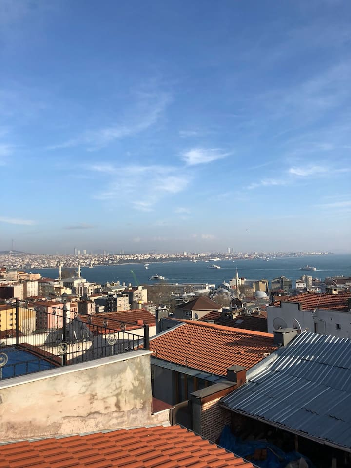 Penthouse With Sea View in Taksim