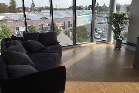 Moderne Ferienwohnung mit Weitblick - Appartement