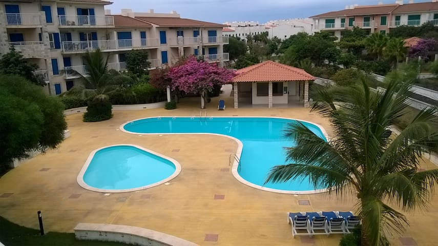 Spacious apartment with pool Vila Verde Cape Verde