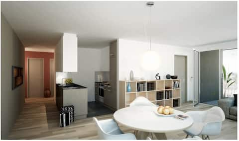 Urban Deluxe Design Apartment (incl. Parking)