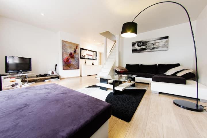 Magnifique duplex en hyper centre de Metz.