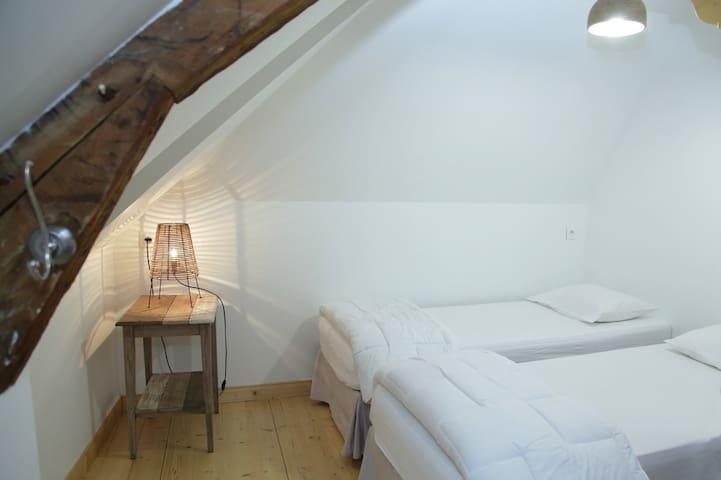 chambre  mansardée  en couple ,en solo - Luz-Saint-Sauveur