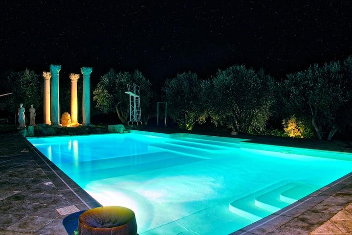 """Tenuta """"I Ruderi"""",  ville di charme, Villa Etrusca"""