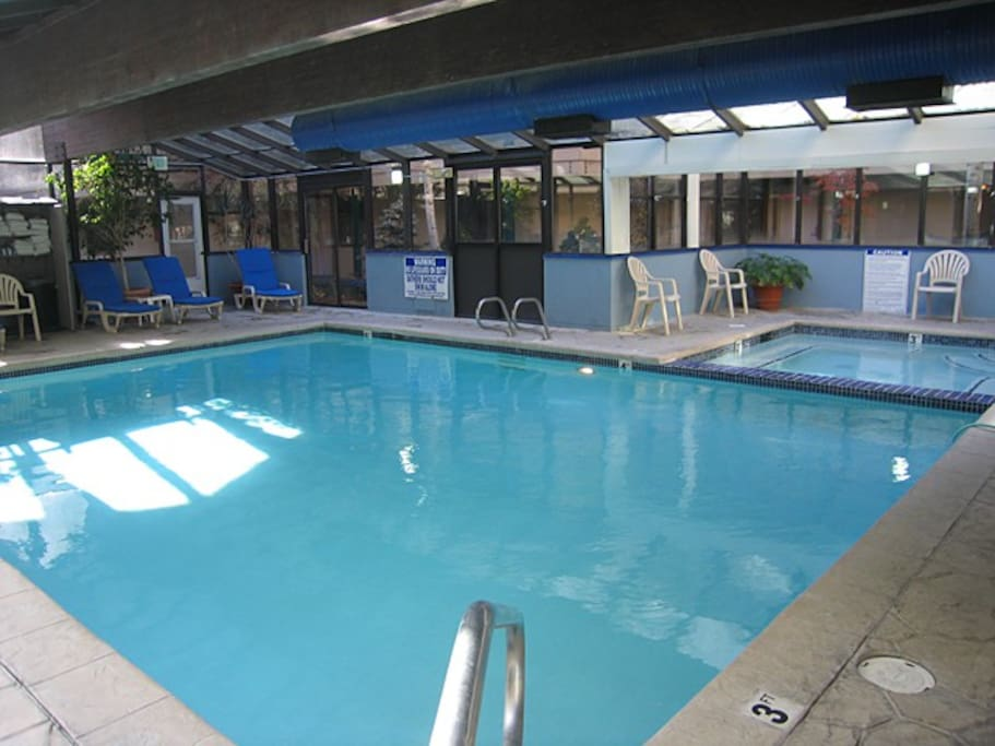 Laundry facilities, Indoor pool, whirlpool hot tub, and  barbecues  are available.