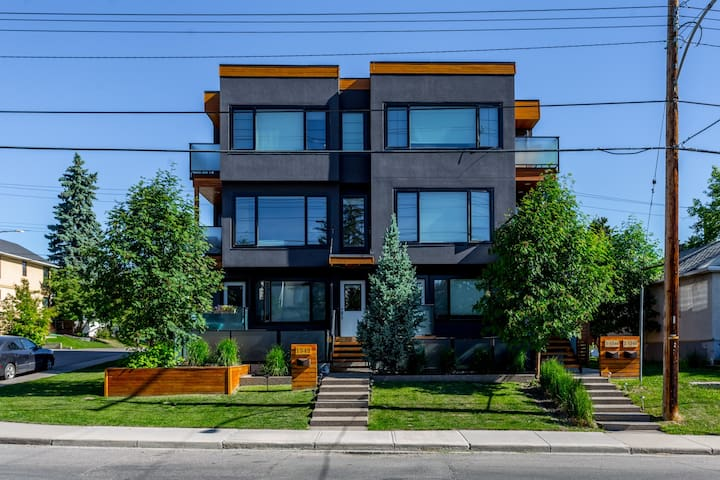 """""""Green"""" Trendy townhouse in Altadore."""