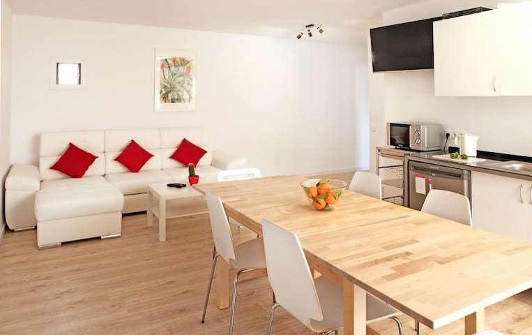 Cosy flat near old town & city center - Palma - Lägenhet