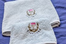 towels are provided