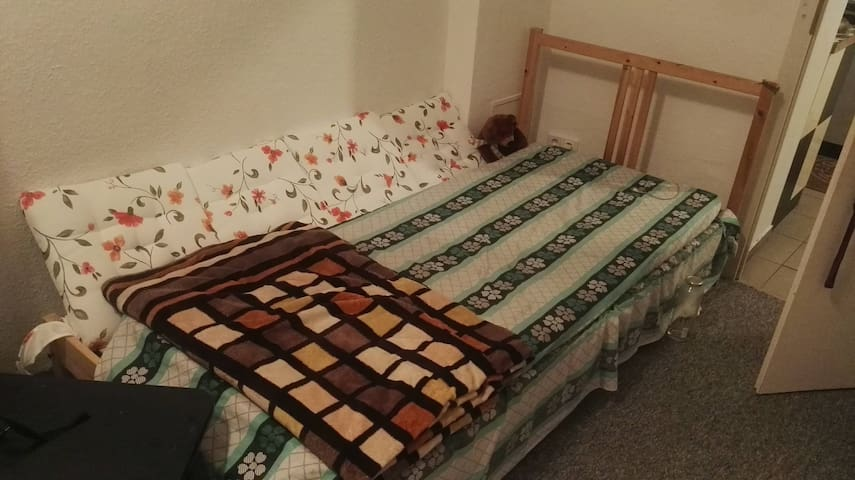 A private furnished room in the center of Halle.
