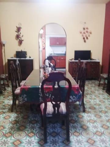 Casa de los abuelitos. En el centro de orizaba