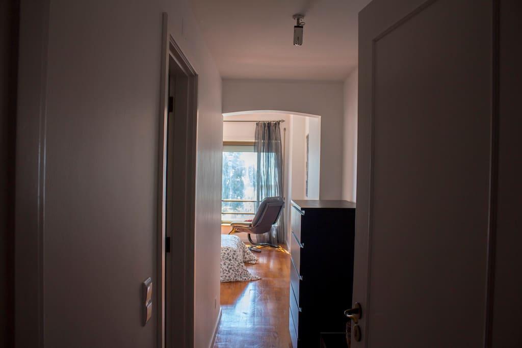 Suite Sea View Entrance