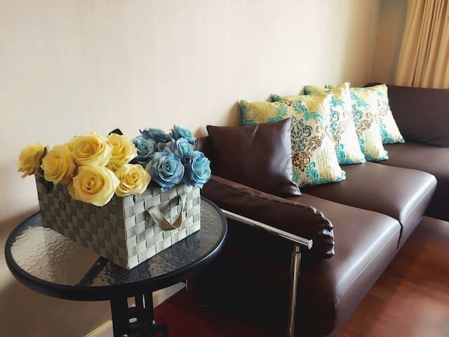 Super host! Beautiful 2BR condo in Asoke! - Bangkok - Apartment