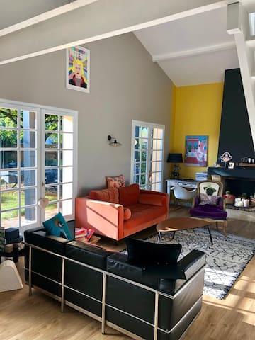 RDC - Salon design et moderne