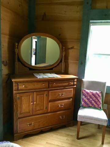 Empty bureau for your things