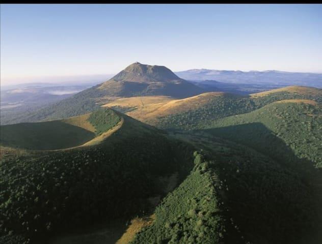 Calme et grand air pur  entre campagne et montagne