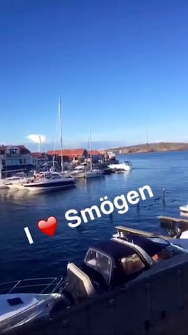 New apartment in Smögen with sea view, 4 persons
