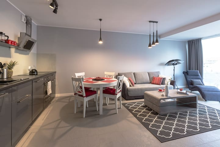 Brand new modern apartment Old Town vicinity! - Gdańsk - Huoneisto