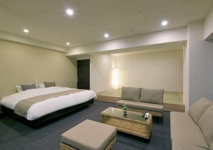 6F-7F  Brand new hotel close to Susukino St.
