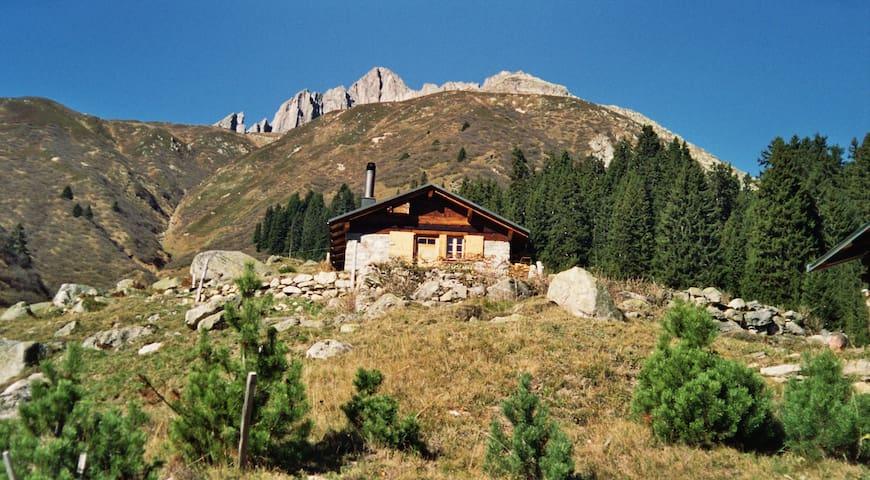 Hüttenfeeling auf dem Maiensäss - Rueras - Chalet