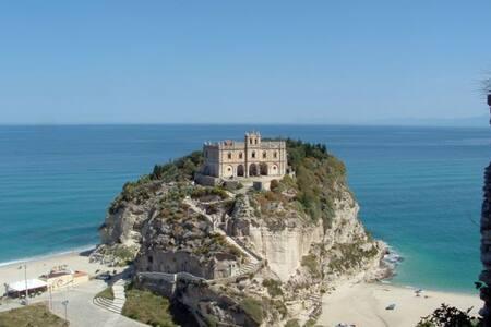 Villa Panthea,vista fantastica su Eolie Stromboli - capo vaticano
