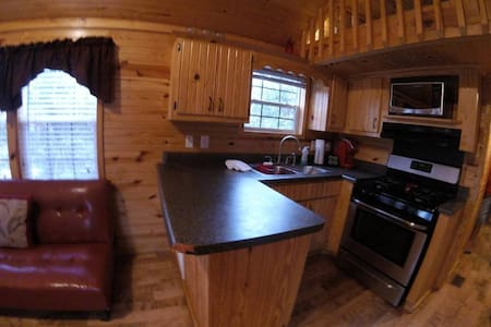 Cabin @Campground: POOL/Free Breakfast (JAVKL01)