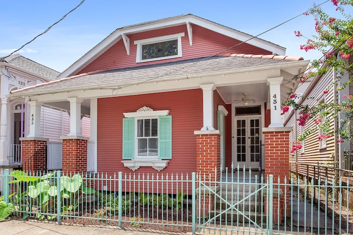 Cozy Studio in Algiers Point steps from the ferry!