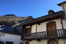 Appartement dans maison de caractère montagnes