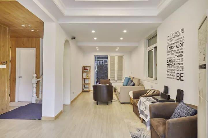 西湖边小别墅整套出租,四个舒服的房间,毗邻灵隐寺,安静舒适,适合度假 - 杭州市 - House