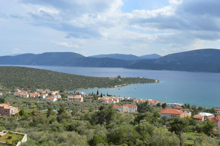 New Villa in Korfos Stunning Views - Korfos