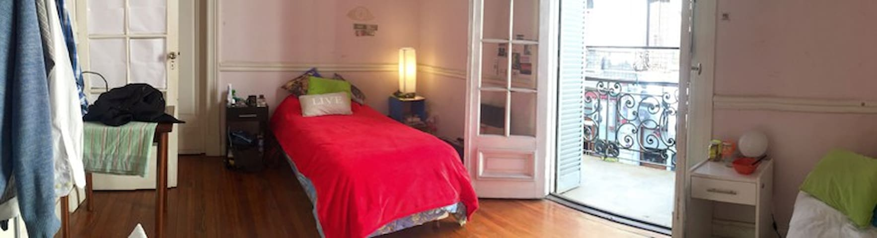 Double shared room in City Centre! - Buenos Aires - Huoneisto