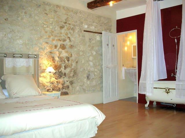 Chambre d'hôtes provençale, au charme d'antan. - La Roque-d'Anthéron - Bed & Breakfast