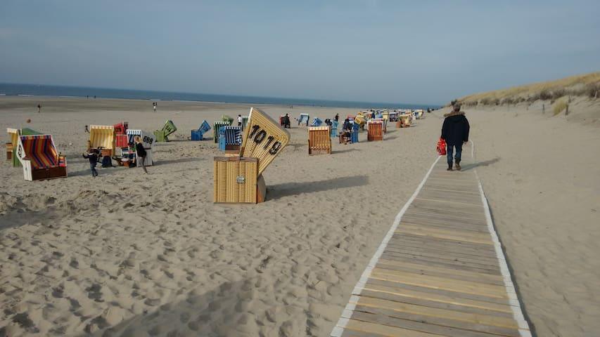 Langeoog, Doppelzimmer mit Strandgefühl...