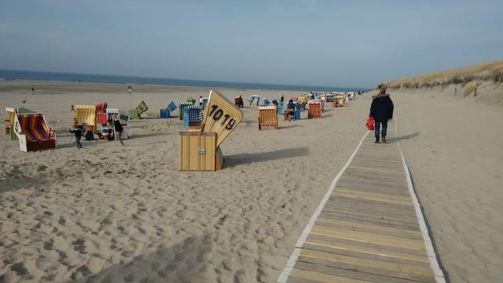 Hostel auf Langeoog, DZ mit Strandgefühl...